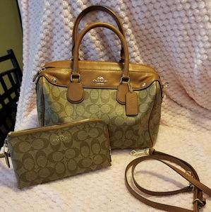 Coach large Bennett purse